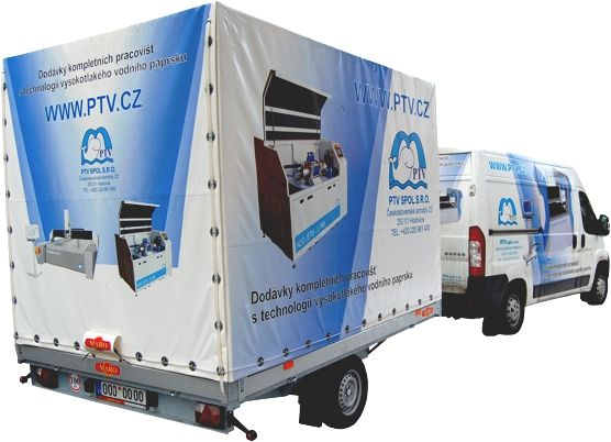 About us   PTV - water jet cutting, water jet