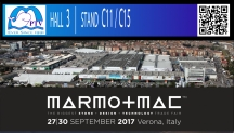 Looking back at the fair in MARMOMAC 2017, Verona, Italy