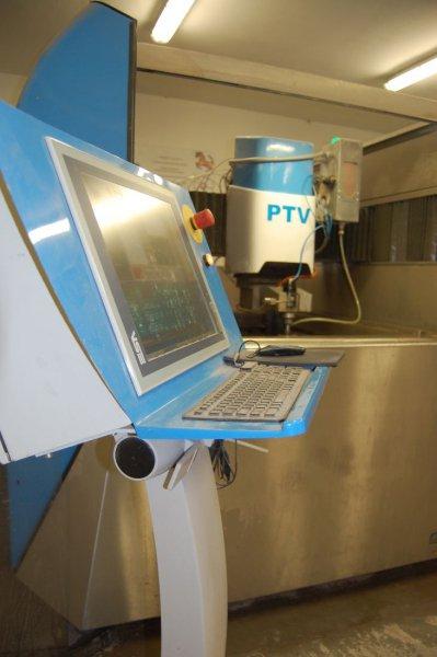 CNC PRECISE JET WJ1010-1Z-5AX | PTV - water jet cutting
